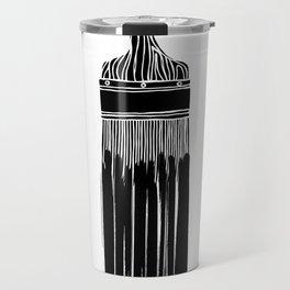 The Old Minimalistic Paint Brush Travel Mug