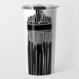 The Old Minimalistic Paint Brush Travel Mug
