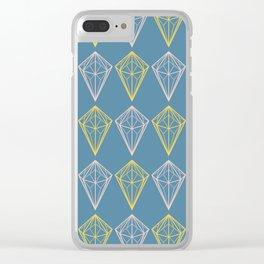 Niagara Geometric Diamonds Clear iPhone Case