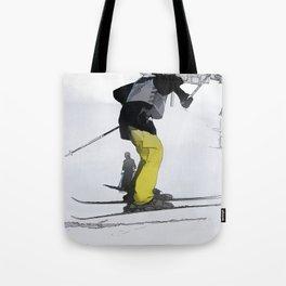Natural High   - Ski Jump Landing Tote Bag