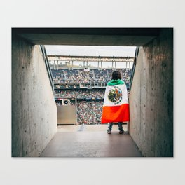 Mexican soccer Canvas Print