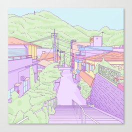 Another everyday place in Japan Canvas Print