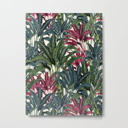 Tropical Garden II Metal Print
