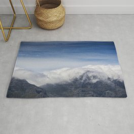 Clouds on Table Mountain Rug