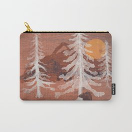 Bear's Solitude... Carry-All Pouch