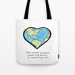 Worldly Love Tote Bag