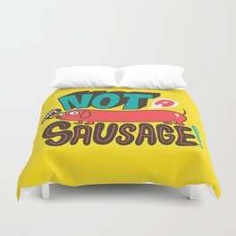 Not a Sausage Duvet Cover