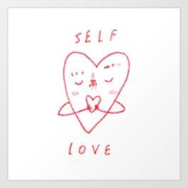 SELF-LOVE Art Print