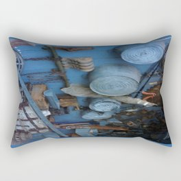Blue Americana Collection Rectangular Pillow