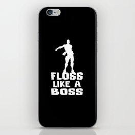 Floss Like A Boss iPhone Skin