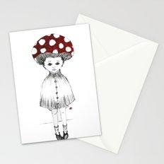 Mushroom Girl Stationery Cards