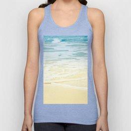 Kapalua Beach dream colours sparkling golden sand seafoam Maui Hawaii Unisex Tank Top