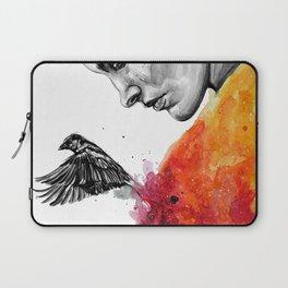 Goodbye depression Laptop Sleeve