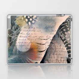 Feathers and Letters Laptop & iPad Skin