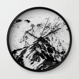 Minimalist Mountains Wall Clock