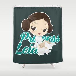 Princess Leia Pin up Shower Curtain
