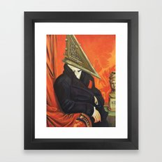 Baron Pyramid Head Framed Art Print