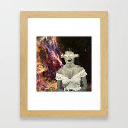 Delicate and Strange Framed Art Print