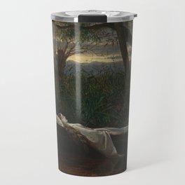Walter Crane - The Lady of Shalott Travel Mug