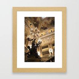 Paris Opera House II - travel photography Framed Art Print