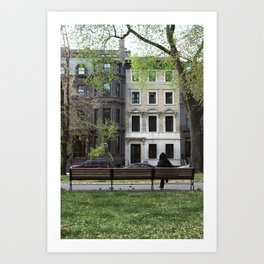 Nature + Architecture = Beauty. Art Print