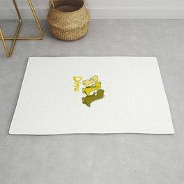 Team Dinosaur (Yellow) Rug