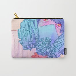 Untitled mask drawing Carry-All Pouch