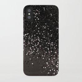 Blush Gray Black Lady Glitter #2 #shiny #decor #art #society6 iPhone Case