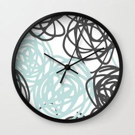 mix up Wall Clock