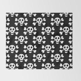 Skull & Crossbones Throw Blanket