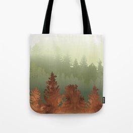Treescape Green Tote Bag