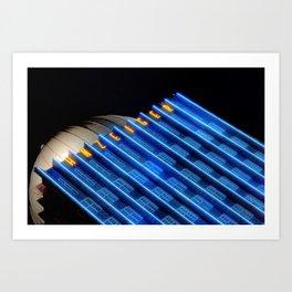 Anzeiger Building at Night Art Print