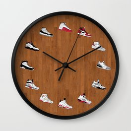 Air Jordan Sneakers 1-12 - Wall Clock 3 Wall Clock