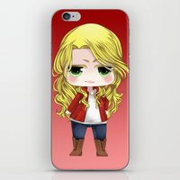 ouat iPhone & iPod Skins featuring OUAT - Chibi Emma Swan by Yorlenisama