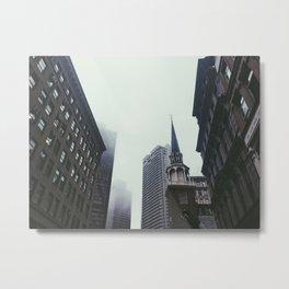 Vanishing Metal Print