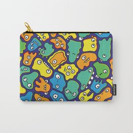 Blue & Yellow Germs Carry-All Pouch