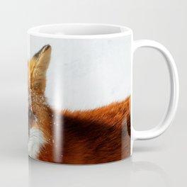 Snowy Faced Fox Coffee Mug