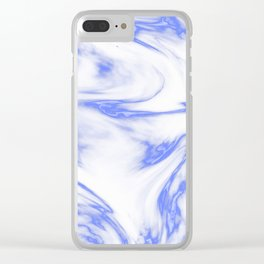 Marble Texture IV Clear iPhone Case
