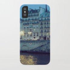 Paris by Night: Ile de la Cite iPhone X Slim Case