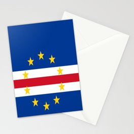 Flag of Cape Verde Stationery Cards