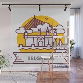 Travel: Belgrade, Serbia Wall Mural