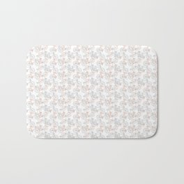 Vintage Bike Pattern Bath Mat