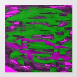 Power Squiggle Canvas Print