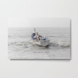 Row, Jersey Shore Metal Print