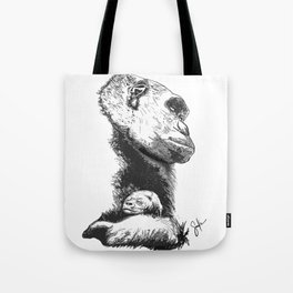 Megan and Mbani gorilla Tote Bag