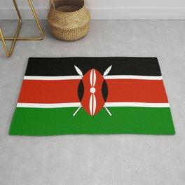 Kenyan Flag - Flag of Kenya Rug