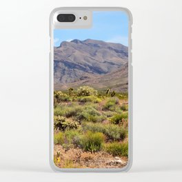 Painted Desert - I Clear iPhone Case