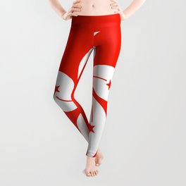 Flag of hong kong Leggings