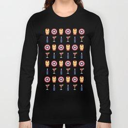 Superheroes Long Sleeve T-shirt