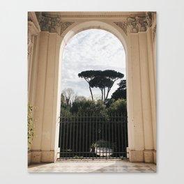 Rome / Outside of Santa Francesca Romana Canvas Print